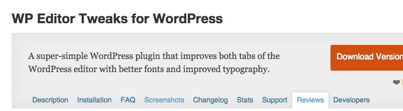 wp-editor-tweaks