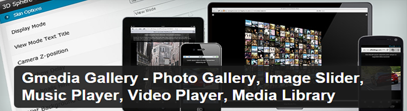 Gmedia Gallery Wordpress Plugin for Images, Video, and Audio