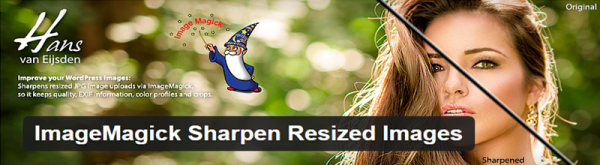 ImageMagick Sharpen Resized Images plugin for WordPress
