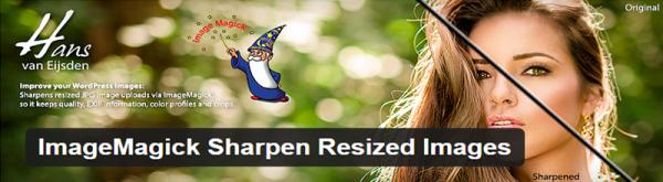 ImageMagick Sharpen Resized Images plugin for WordPress