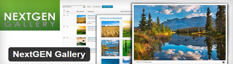 NextGEN Gallery Plugin for WordPress