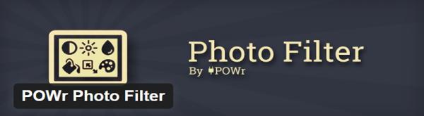 POWr Photo Filter plugin for WordPress