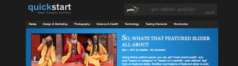 gabfire-темы-быстрому старту