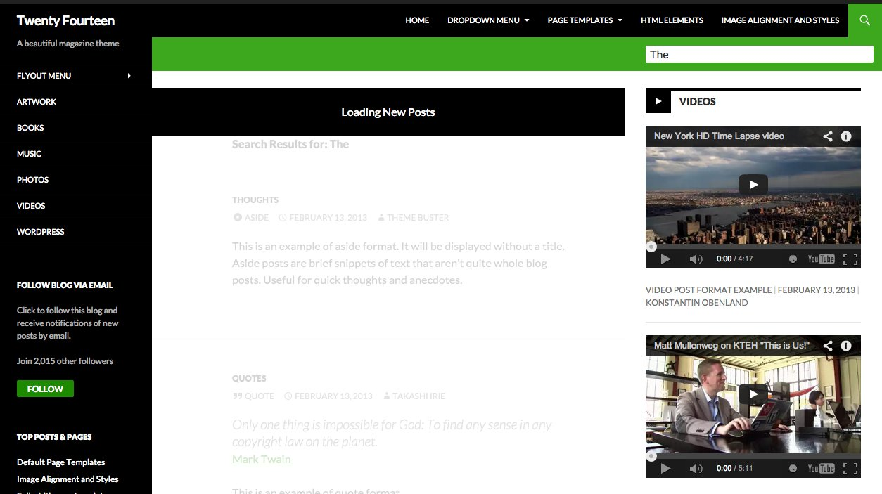 Loading Posts With AJAX