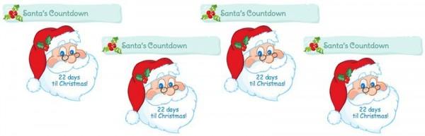 Christmas Countdown Widget.10 Free Wordpress Plugins To Add Christmas Cheer To Your Site