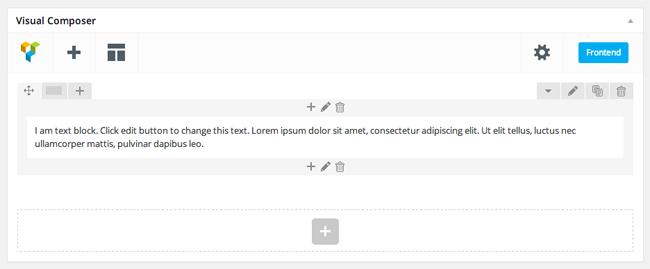 Visual Composer Text Block