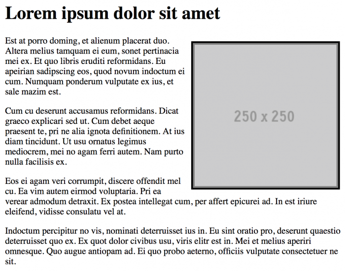 Image With CSS