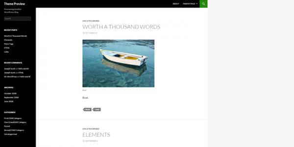 14-Glassy theme screenshot