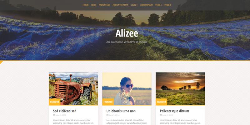Alizee theme