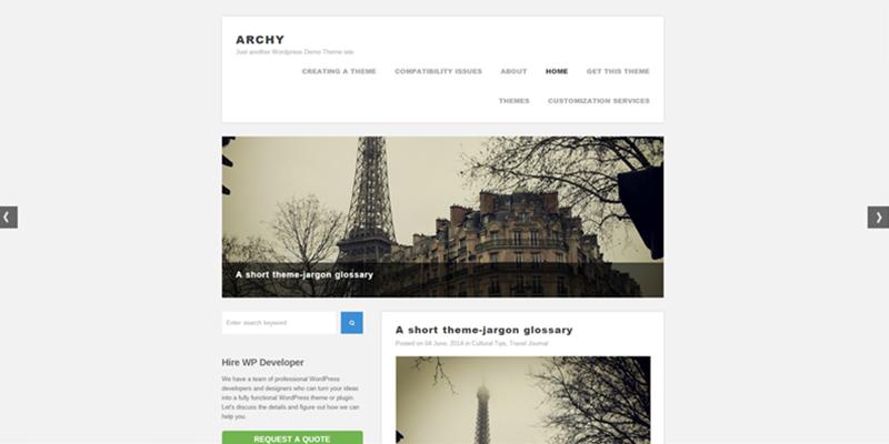 Archy theme