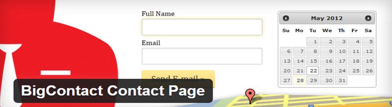 BigContact Contact Page plugin