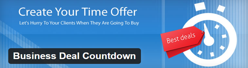 Business Deal Countdown plugin