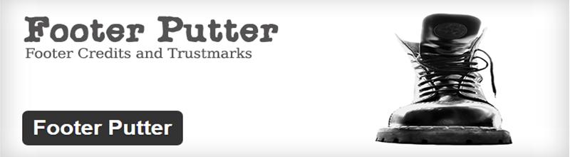 Footer Putter plugin