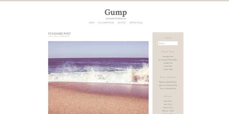 Gump theme