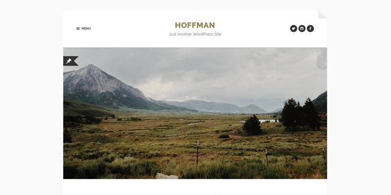 Hoffman theme