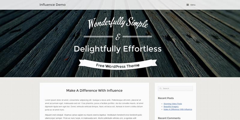 Influence-theme-