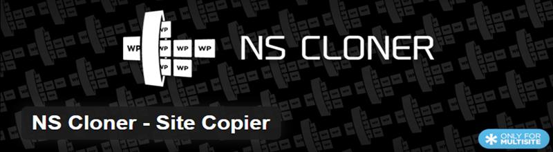NS Cloner - Site Copier WordPress plugin
