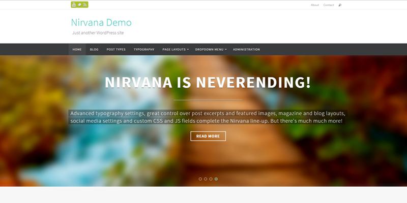 blog free clean elegant wordpress themes