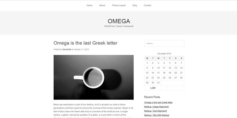 Omega theme
