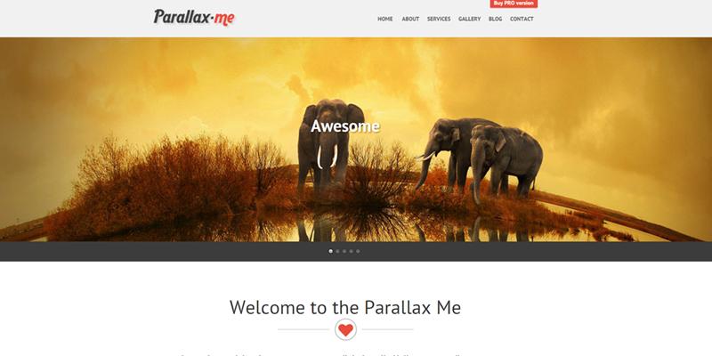 SKT Parallaxme theme