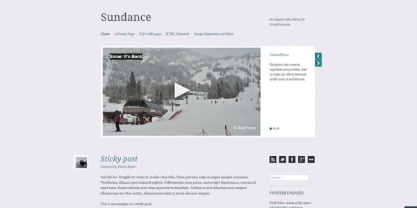 Sundance theme