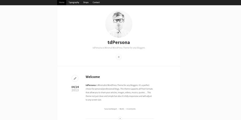 TdPersona theme