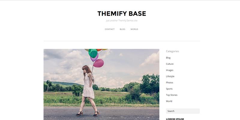 Themify theme