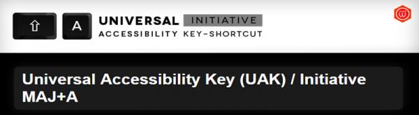 Universal Accessibility Key plugin