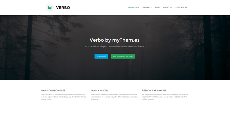 Verbo theme