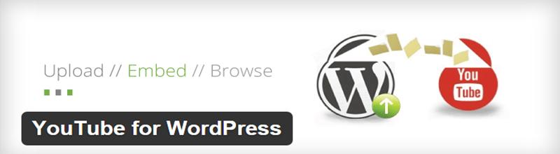YouTube for WordPress plugin
