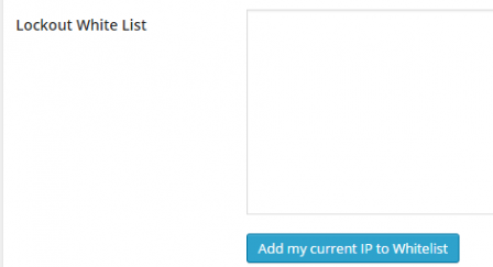 iThemes Security plugin's whitelist IP address feature
