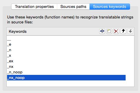 source keywords