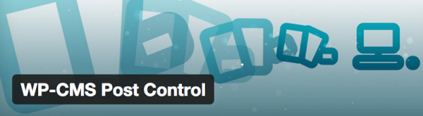 WP CMS Post Control