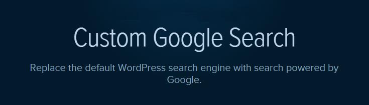 Custom Google Search plugin
