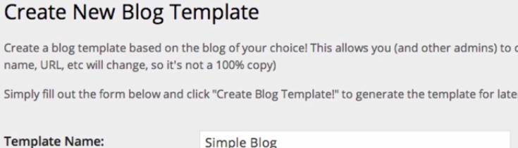 New Blog Templates plugin
