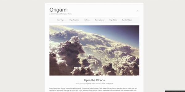 Origami theme