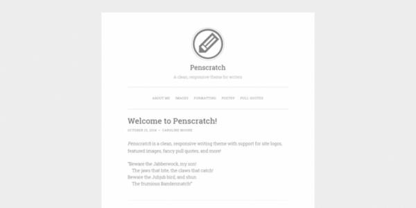 Penscratch theme