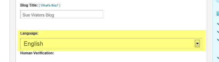 Select Language at Signup plugin