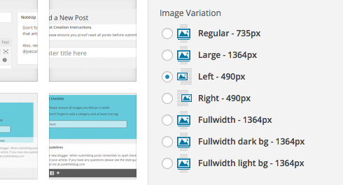 Custom image uploader
