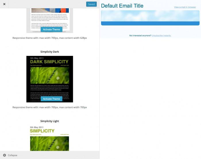 e-newsletter-theme-customizer