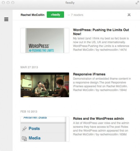 RSS Featured Images Output