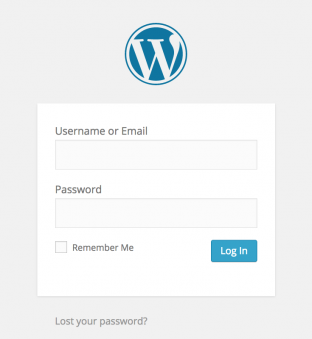 WP Login Email