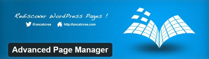 Advanced Pages Manager