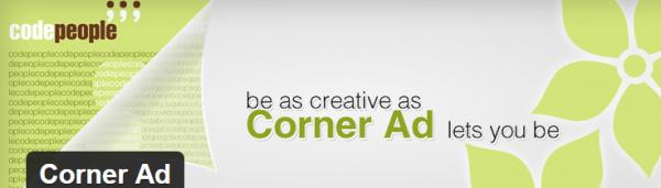Corner Ad plugin