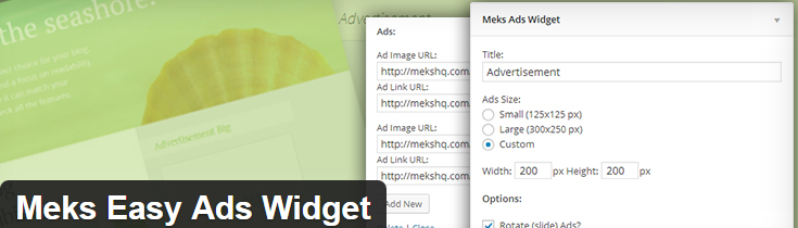 Meks Easy Ads Widget