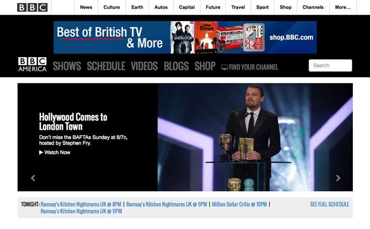 bbc america blog network