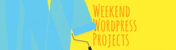 Weekend WordPress Project
