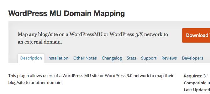 wordpress-mu-domain-mapping