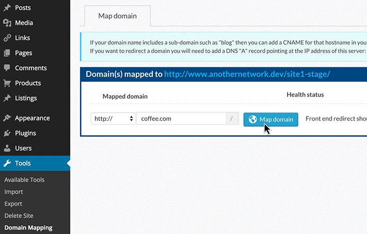 The Domain Mapping backend