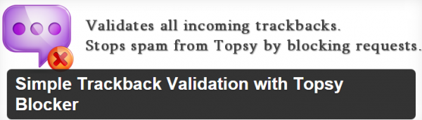 Topsy Blocker plugin